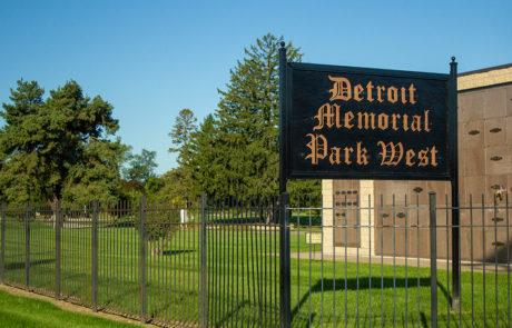 DMP West sign