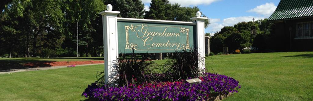 Gracelawn Cemetery in Flint